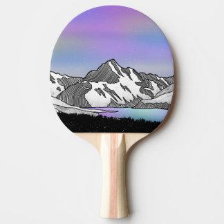 Aoraki Mount Cook NZ Ping Pong Paddle