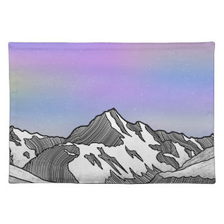 Aoraki Mount Cook NZ Placemat
