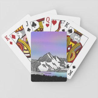 Aoraki Mount Cook NZ Playing Cards