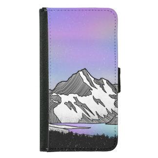 Aoraki Mount Cook NZ Samsung Galaxy S5 Wallet Case