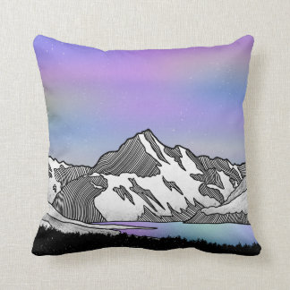 Aoraki Mount Cook NZ Throw Pillow