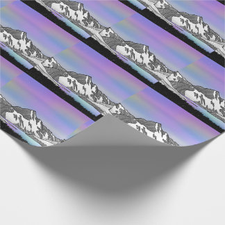 Aoraki Mount Cook NZ Wrapping Paper
