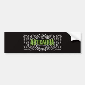 Aotearoa Lifer Moko Bumper Sticker
