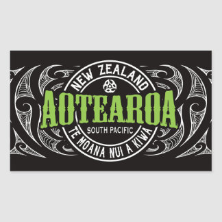 Aotearoa Lifer Moko Sticker