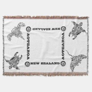 AOTEAROA / NZ IKA KORU throw from new zealand