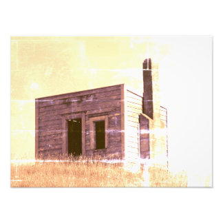 aotearoa settlers shack building house hut photo print