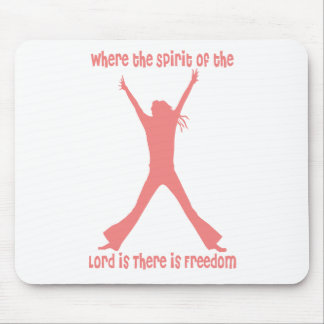 AP031 Where the Spirit of the Lord is Mousepads