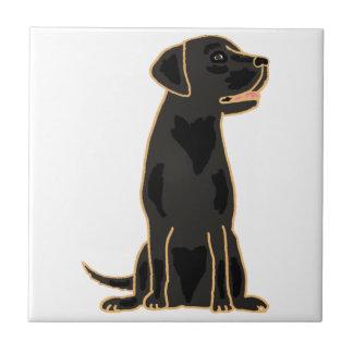 AP- Black Labrador Tile