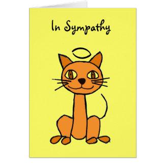 AP- Cat Sympathy Card