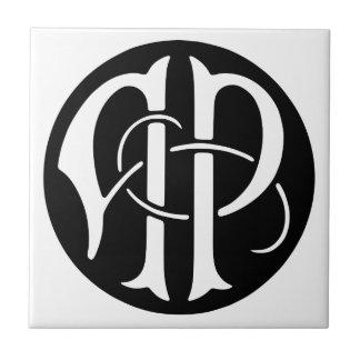 AP Monogram Ceramic Tile