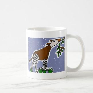 AP- Okapi Art Cartoon Coffee Mug