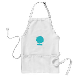 ApA 002 Blue tree Apron