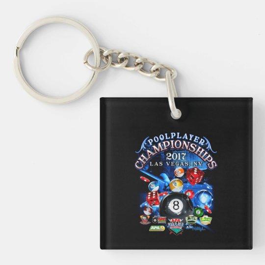 APA 2017 Las Vegas Championships Single-Sided Square Acrylic Keychain
