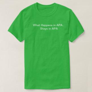 APA For Life Tee