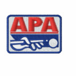 APA Full Colour Logo Embroidered Hooded Sweatshirts