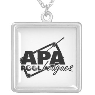 APA Leagues Silver Plated Necklace
