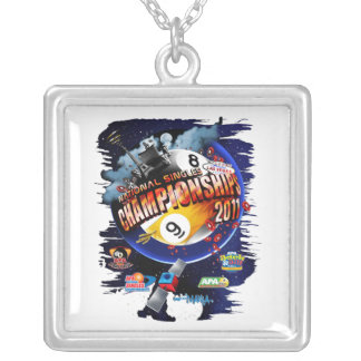 APA National Singles Championships Silver Plated Necklace