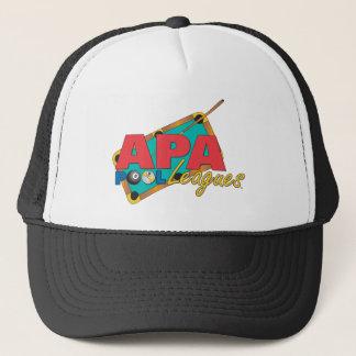 APA Pool Leagues Trucker Hat