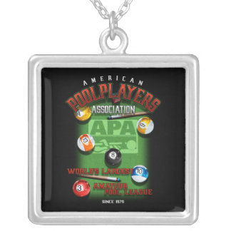 APA Since 1979 Silver Plated Necklace