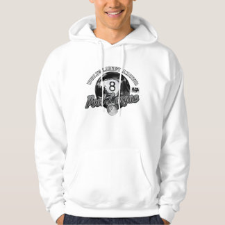 APA Team Captain Black & White Hoodie