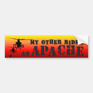 Apache1 Bumper Sticker