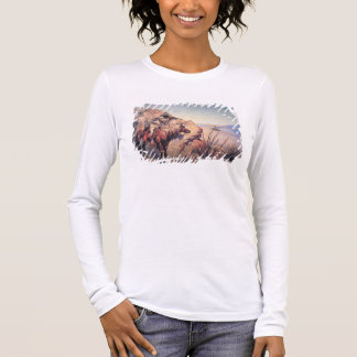 Apache Ambush (oil on canvas) Long Sleeve T-Shirt