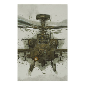 Apache Attack Helicopter Stationery