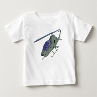 Apache helicopter in front view baby T-Shirt