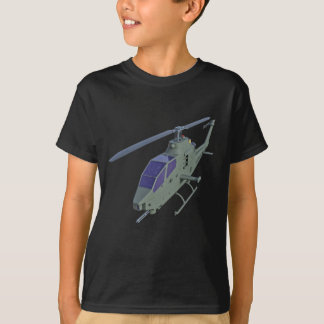Apache helicopter in front view T-Shirt