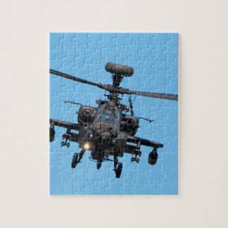 Apache Helicopter Jigsaw Puzzle