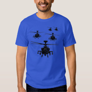 Apache helicopter t-shirts