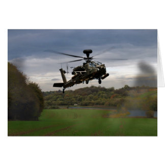 Apache In The Field Card