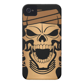 Apache Indian Skull Blackberry Bold  Case iPhone 4 Covers