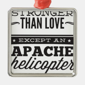 Apache Metal Ornament