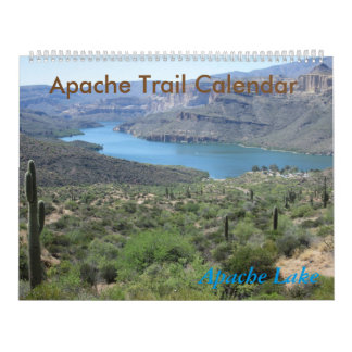 Apache Trail Arizona Calendar