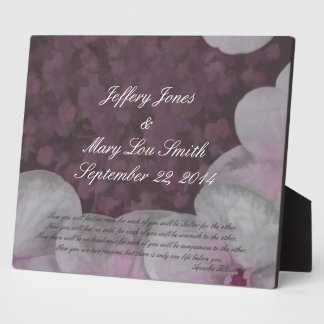 Apache Wedding Blessing Plaque