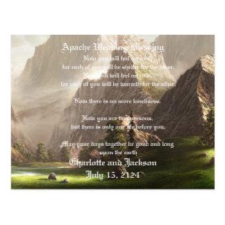 Apache Wedding Blessing Valley Postcard