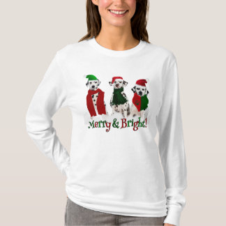 APAL - Christmas Dalmatian Dogs in the Snow T-Shirt