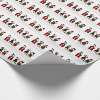 APAL - Christmas Dalmatian Dogs Wrapping Paper