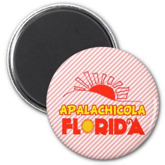 Apalachicola, Florida 2 Inch Round Magnet