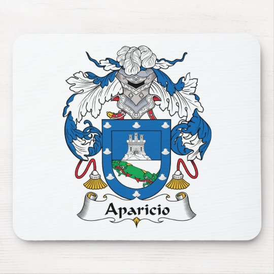 Aparicio Family Crest Mouse Pad