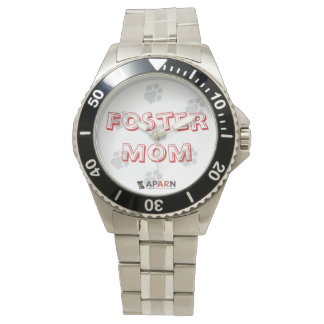 APARN Foster Mom Classic Stainless Steel Watch
