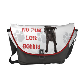 APARN No Pug Left Behind Medium Messenger Bag
