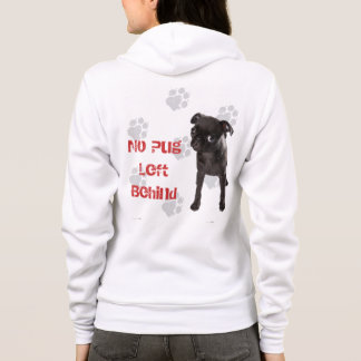 APARN No Pug Left Behind Women's Hoodie