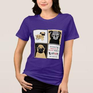 APARN Rescue Pugs Women's Bella Missy T-Shirt