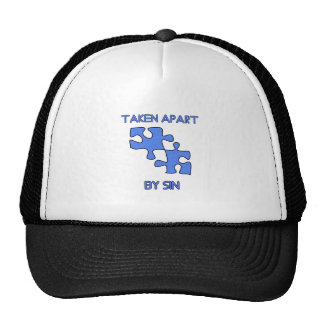 Apart By Sin Made Whole With God Trucker Hat