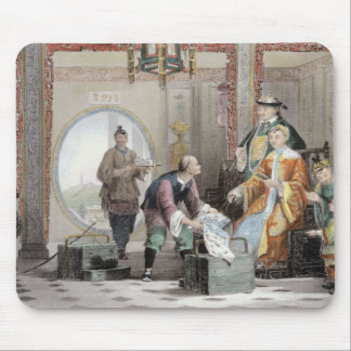 Apartment in a Mandarin's House, near Nanking, fro Mouse Pad