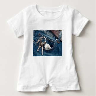 Apartment in my pocket baby romper