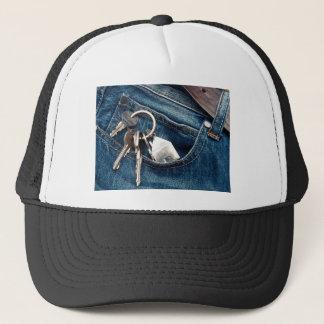 Apartment in my pocket trucker hat