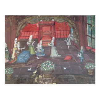Apartment of a Noblewoman Postcard